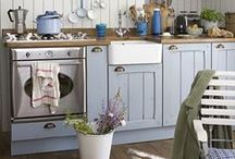 ♡ Country kitchen / Country life & kitchens