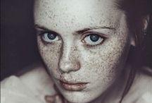 ♡ Freckles / freckles