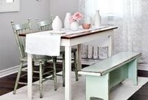 ♡ Dining room / Can I have more than one dining room ... please!