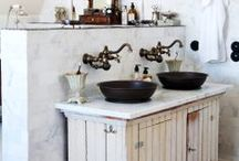 bathroom ideas / by Deneen Yonts-Wood