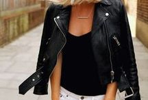 Lusting for Leather / Leather makes everything better. / by ThreadSence