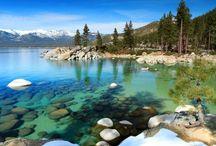 Keep Tahoe Blue / Dear Lake Tahoe, I love you.  / by Emma Martin