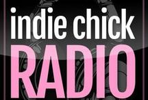 Indie Chick Radio / #ICRadio Every Tuesday night at 8pm EST with @chiarasays and @xtalrose  IndieChickRadio.com  TheIndieChicks.com / by The Indie Chicks Online Magazine