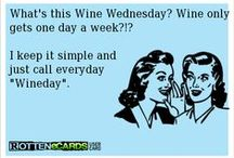 Wine Wednesday! / The best day of the week is hump day! Why not enjoy a great glass of wine!