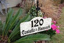 Personalized Yard Sign with Stake