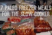 Crock pot freezer meals / GREAT recipes to help you plan ahead and spend less time in the kitchen!