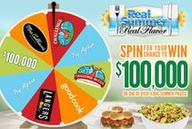 Real Summer. Real Flavor. 2015 / SPIN for your chance to INSTANTLY WIN $100,000 or one of over 4,000 other summer prizes from Challenge Butter, NEW Challenge Cream Cheese, Good Cook, Mrs. Cubbison's Salad Toppings and Langers Juice. Each time you spin the wheel you are entered into the $10,000 Sweepstakes drawing at the end of summer!  / by Challenge Butter