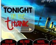 Tonight on the Titanic: Magic Tree House / Novel study and NO PREP (ELA) for the Magic Tree House novel, Tonight on the Titanic. These resources focus on comprehension, vocabulary, phonics, grammar, and spelling skills for grades 1-3. Magic Tree House, Products, Book
