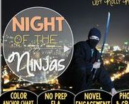 Night of the Ninjas: Magic Tree House / Novel study and NO PREP (ELA) for the Magic Tree House novel, Night of the Ninjas. These resources focus on comprehension, vocabulary, phonics, grammar, and spelling skills for grades 1-3. Magic Tree House, Products, Book