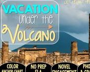 Vacation Under the Volcano: Magic Tree House / NO PREP (ELA) for the Magic Tree House novel, Vacation Under the Volcano. These resources focus on comprehension, vocabulary, phonics, grammar, and spelling skills for grades 1-3. Magic Tree House, Products, Book