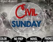 Civil War on Sunday: Magic Tree House / NO PREP (ELA) for the Magic Tree House novel, Civil War on Sunday. These resources focus on comprehension, vocabulary, phonics, grammar, and spelling skills for grades 1-3. Magic Tree House, Products, Book