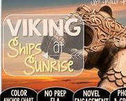 Viking Ship at Sunrise: Magic Tree House / NO PREP (ELA) for the Magic Tree House novel, Viking Ships at Sunrise. These resources focus on comprehension, vocabulary, phonics, grammar, and spelling skills for grades 1-3. Magic Tree House, Products, Book