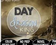 Day of the Dragon King: Magic Tree House / NO PREP (ELA) for the Magic Tree House novel, Day of the Dragon King. These resources focus on comprehension, vocabulary, phonics, grammar, and spelling skills for grades 1-3. Magic Tree House, Products, Book