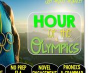 Hour of the Olympics: Magic Tree House / NO PREP (ELA) for the Magic Tree House novel, Hour of the Olympics. These resources focus on comprehension, vocabulary, phonics, grammar, and spelling skills for grades 1-3. Magic Tree House, Products, Book