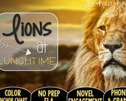 Lions at Lunchtime: Magic Tree House / Novel study and NO PREP (ELA) for the Magic Tree House novel, Lions at Lunchtime. These resources focus on comprehension, vocabulary, phonics, grammar, and spelling skills for grades 1-3. Magic Tree House, Book, Product