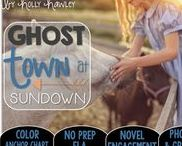Ghost Town at Sundown: Magic Tree House / Read the Room, Comprehension and NO PREP (ELA) for the Magic Tree House novel, Ghost Town at Sundown. These resources focus on comprehension, vocabulary, phonics, grammar, and spelling skills for grades 1-3. Magic Tree House, Book, Product