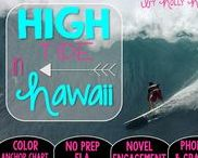 High Tide in Hawaii: Magic Tree House / Novel study and NO PREP (ELA) for the Magic Tree House novel, High Tide in Hawaii. These resources focus on comprehension, vocabulary, phonics, grammar, and spelling skills for grades 1-3. Magic Tree House, Book, Product
