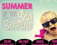 Summer of the Sea Serpent: Magic Tree House / NO PREP (ELA) for the Magic Tree House novel, Summer of the Sea Serpent. These resources focus on comprehension, vocabulary, phonics, grammar, and spelling skills for grades 1-3. Magic Tree House, Product, Book