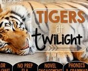 Tigers at Twilight: Magic Tree House / NO PREP (ELA) for the Magic Tree House novel, Tigers at Twilight. These resources focus on comprehension, vocabulary, phonics, grammar, and spelling skills for grades 1-3. Magic Tree House, Book, Product