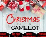 Christmas in Camelot: Magic Tree House / Novel Study and NO PREP (ELA) for the Magic Tree House novel, Christmas in Camelot. These resources focus on comprehension, vocabulary, phonics, grammar, and spelling skills for grades 1-3. Magic Tree House, Book, Product