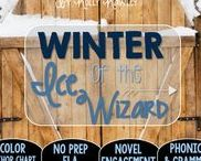 Winter of the Ice Wizard: Magic Tree House / NO PREP (ELA) for the Magic Tree House novel, Winter of the Ice Wizard. These resources focus on comprehension, vocabulary, phonics, grammar, and spelling skills for grades 1-3. Magic Tree House, Book, Product