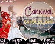Carnival at Candlelight: Magic Tree House / NO PREP (ELA) for the Magic Tree House novel, Carnival at Candlelight. These resources focus on comprehension, vocabulary, phonics, grammar, and spelling skills for grades 1-3. Magic Tree House, Book, Product