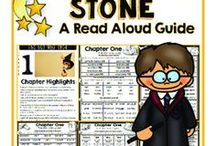 Harry Potter Novel Study & Activities / Grammar and phonics novel study with chapter lesson plans. Ink friendly. Easy implementation. Decorations, snacks, costume ideas.
