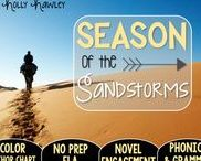 Season of the Sandstorms: Magic Tree House / NO PREP (ELA) for the Magic Tree House novel, Season of the Sandstorms. These resources focus on comprehension, vocabulary, phonics, grammar, and spelling skills for grades 1-3. Magic Tree House, Book, Product