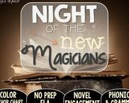 Night of the New Magicians: Magic Tree House / NO PREP (ELA) for the Magic Tree House novel, Night of the New Magicians. These resources focus on comprehension, vocabulary, phonics, grammar, and spelling skills for grades 1-3. Magic Tree House, Book, Product
