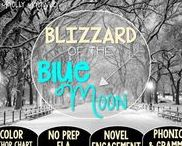 Blizzard of the Blue Moon: Magic Tree House / NO PREP (ELA) for the Magic Tree House novel, Blizzard of the Blue Moon. These resources focus on comprehension, vocabulary, phonics, grammar, and spelling skills for grades 1-3. Magic Tree House, Book, Product