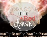 Dragon of the Red Dawn : Magic Tree House / NO PREP (ELA) for the Magic Tree House novel, Dragon of the Red Dawn. These resources focus on comprehension, vocabulary, phonics, grammar, and spelling skills for grades 1-3. Magic Tree House, Book, Product