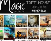 Magic Tree House / Everything you need if you are a fan of the Magic Tree House series! Comprehension guides, NO PREP (ELA) phonics and grammar resources, Read the room, journal prompts, and so much MORE! Click through for all the resources. Magic Tree House, Book, Products