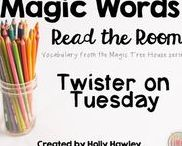 """Read the Room-Magic Tree House / Enhance your students' Magic Tree House experience by having them practice """"magic words"""". They will use text vocabulary with Read around the room activities. Magic Tree House, Products, Book"""