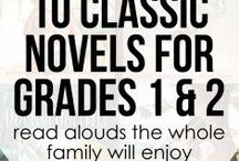 """Book Lists for the Classroom / The perfect way to add those """"must have"""" books to your classroom, home-school, or home library for students and get them READING!"""
