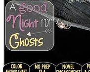A Good Night for Ghosts: Magic Tree House / NO PREP (ELA) for the Magic Tree House novel, A Good Night for Ghosts. These resources focus on comprehension, vocabulary, phonics, grammar, and spelling skills for grades 1-3. Magic Tree House, Book, Product