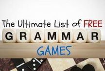 Grammar 1-3 / Grammar activities, centers, ideas, anchor charts, and printable resources for first, second, and third grade.