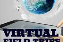 Virtual Field Trips / Stuck in the classroom? No funds for a field trip? Try a VIRTUAL FIELD TRIP instead! Here are ideas for EVERY and ANY type of field trip for grades K-12.