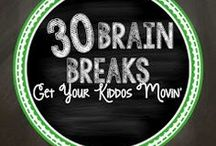 Brain Breaks / Kids need a break? Here are a bunch of ideas (most are FREE) to break up your day, get your class moving, and refocus.