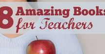 Teacher Books & Websites / Great professional reading material for new teachers and veterans who are looking to brush up or refresh some of their tried practices!