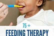 Feeding Therapy / Feeding therapy suggestions for families with children who have SPD (Sensory Processing Disorder) and difficulty finding ways to get their kiddos to eat NEW things.