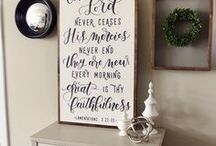 Scripture Wall Art / Home decor with a focus on different scriptures whether it is a downloadable printable or barn wood or canvas, any of these will uplift and charm to your home.