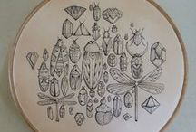 Tattooed Leather Art: Circles / Handmade Tattooed, Tooled & Stitched Leather Art & Artefacts www.puncturedartefact.com