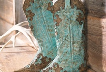 Aqua......Turquoise / by The Rusty Penny