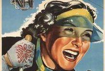 Poster vintage e vecchie cartoline dalla valsesia