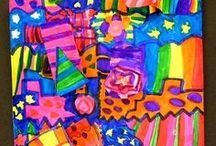 Grade 1 Art ideas