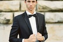 Handsome Grooms  / A well styled ensemble makes a groom even more handsome at all the wedding festivities !