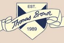 Thomas Brown / With over twenty years' experience in providing great quality designer clothing for young boys, Thomas Brown is proud to offer modern classics for every occasion.