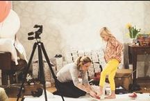 SS15 Behind the Scenes / We spent a wonderful day photographing our Spring / Summer Collection for 2015 with our beautiful models. Browse this board for our behind the scene shots!
