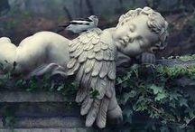 ☼ Anges et Chérubins ☼ / Les anges et leur hiérarchie qui est composée en autres des chérubins.  ☼ www.angesgardiens.net ☼ #AngesGardiens #Cherubins
