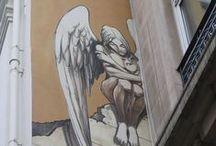 ☼ Graffiti Ange ☼ / Les anges dans l'art de la rue. ☼ www.angesgardiens.net ☼ #AngesGardiens #GraffitiAnge
